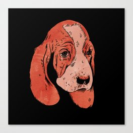 Sad Dogs Club Canvas Print