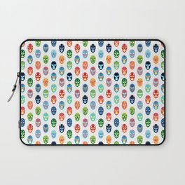 Lucha libre mask pattern Laptop Sleeve