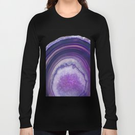 Magic Fingerprint Agate Long Sleeve T-shirt