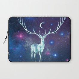 Reindeer Lost In Space Laptop Sleeve