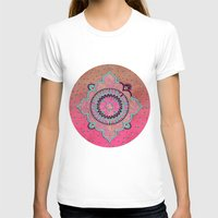 india T-shirts featuring India Pink by LebensART