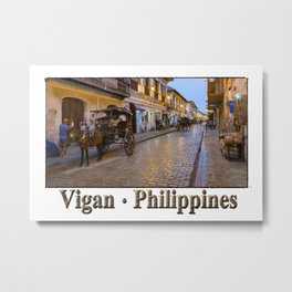 Vigan : Philippines Metal Print