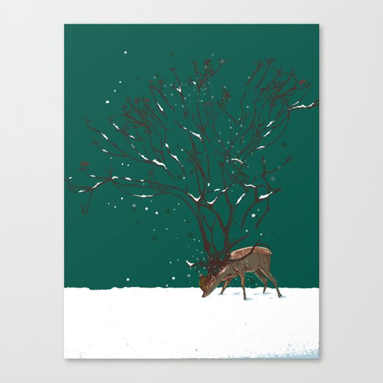 Winter Is All Over You Canvas Print