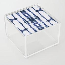 Boho Tie-Dye Knit Vertical Acrylic Box