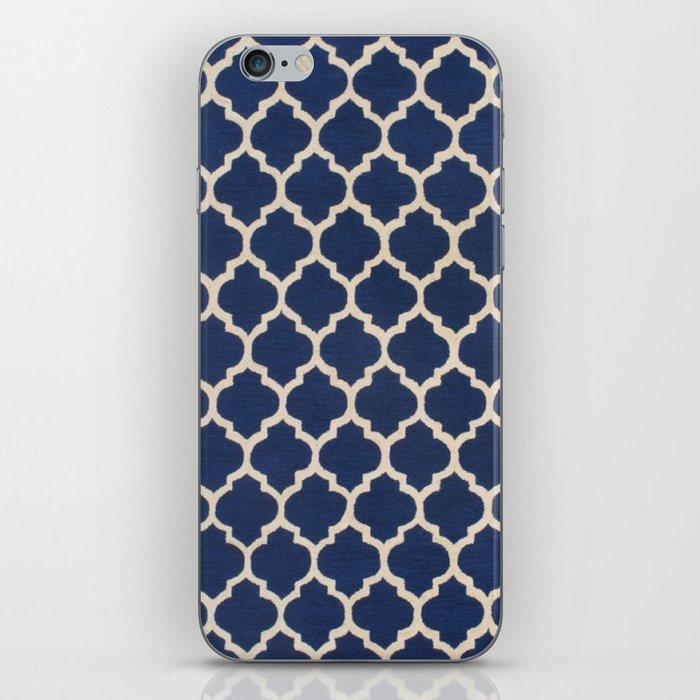 VINTAGE in NAVY iPhone Skin