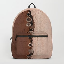 rotated rustic roof Backpack