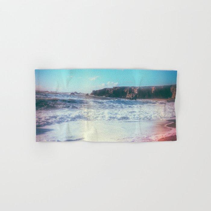 California Sunshine Waves Hand & Bath Towel