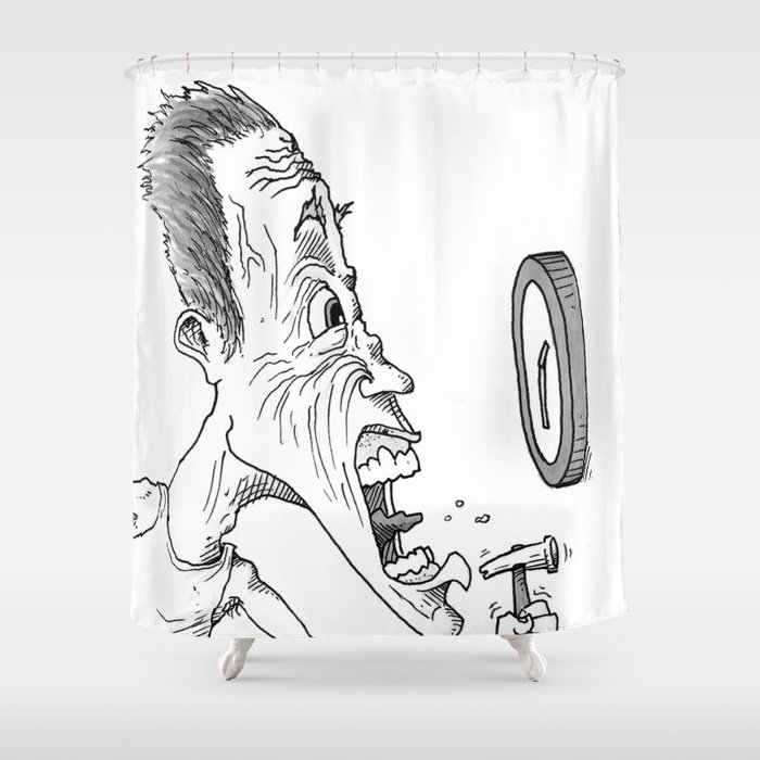 It's NOT Hammer Time! Shower Curtain