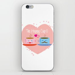 Meet The Happy Cup-O iPhone Skin