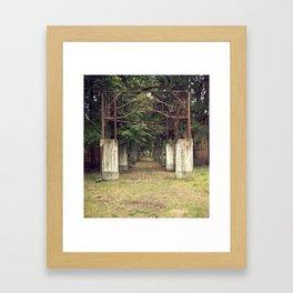 Krankenhaus Beelitz Heilstatten, Berlin Framed Art Print