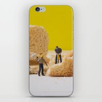 work hard iPhone & iPod Skins featuring Hard Work by Encolhi as Pessoas