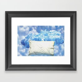 To Get to the Cool Side Framed Art Print