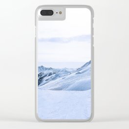 149. Perfect White, France Clear iPhone Case