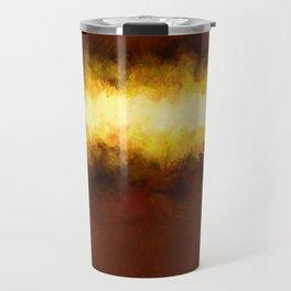 Liquid Gold Sunbeam with Burnished Bronze Travel Mug