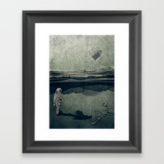 anatomy space I Framed Art Print