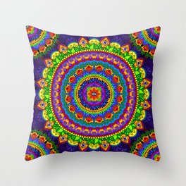 Chakra Journey Throw Pillow