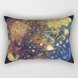 Callisto Moon of Jupiter Rectangular Pillow