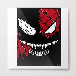 Venom/Spider-Man  Metal Print
