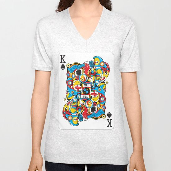 King Of Spades Unisex V-Neck