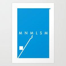 Minimalism• Art Print