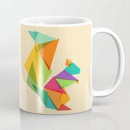 Fractal geometric Squirrel Coffee Mug