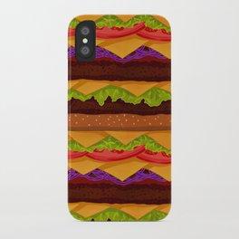 Infinite Burger iPhone Case