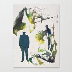 Drawn Restraint (Past) Canvas Print
