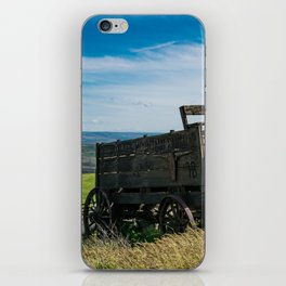 Lonely Wagon iPhone Skin