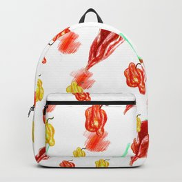 moving chilies Backpack