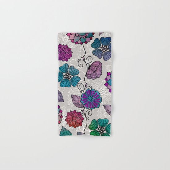 Flower Flow #2 Hand & Bath Towel