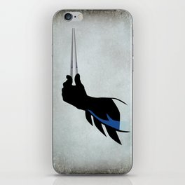 Bat chopsticks iPhone Skin