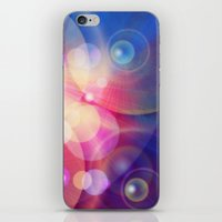 the lights iPhone & iPod Skins featuring lights by haroulita