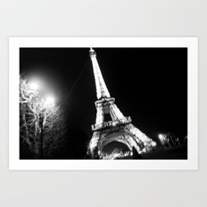 Those Crazy Nights In Paris Art Print