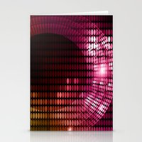 disco Stationery Cards featuring Disco by frenkelvic