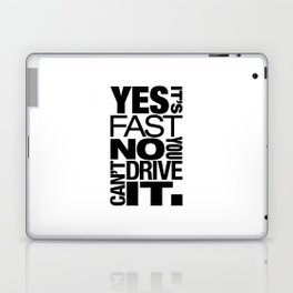 Yes it's fast No you can't drive it v6 HQvector Laptop & iPad Skin