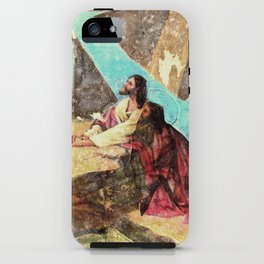 double jesus iPhone Case