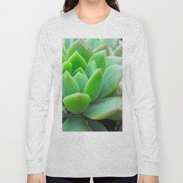 Graptopetalum Succulent Long Sleeve T-shirt