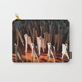 """"""" Easels At Sunrise """" Carry-All Pouch"""