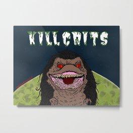 Kill Crits Metal Print