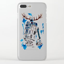 R2uD2olph Clear iPhone Case