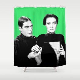 Draculas Daugter Shower Curtain