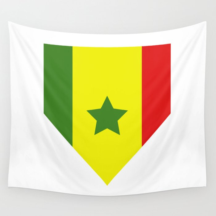 Senegal flag Wall Tapestry