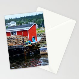Fisherman's Shack Stationery Cards