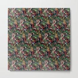 Rainforest Corner - PATTERN Metal Print