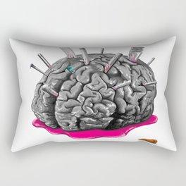 Sketchy Brain Rectangular Pillow