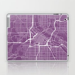 Minneapolis Map, USA - Purple Laptop & iPad Skin