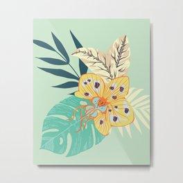 Orchid Bouquet Metal Print