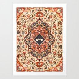 Sarouk Farahan Design Art Print