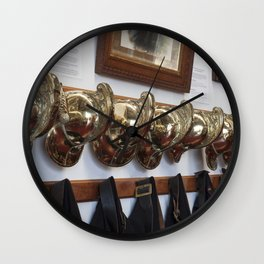 Fire men Wall Clock