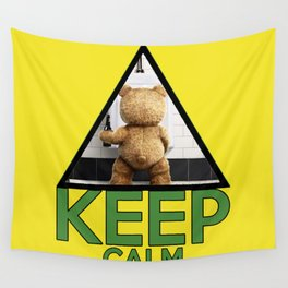 """Keep Calm """"Ted"""" Wall Tapestry"""